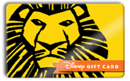 Disney THE LION KING Gift Card
