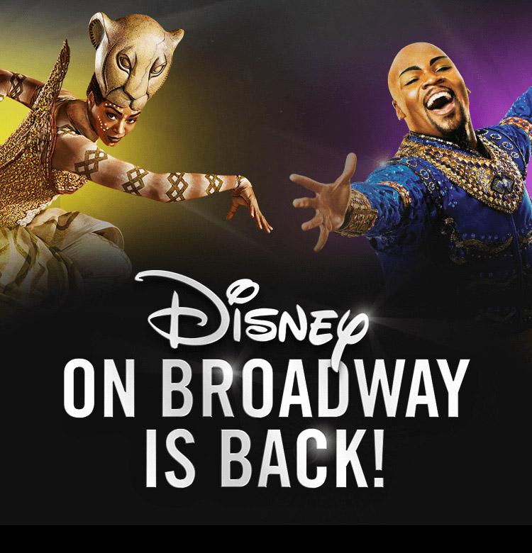 Disney On Broadway Is Back!